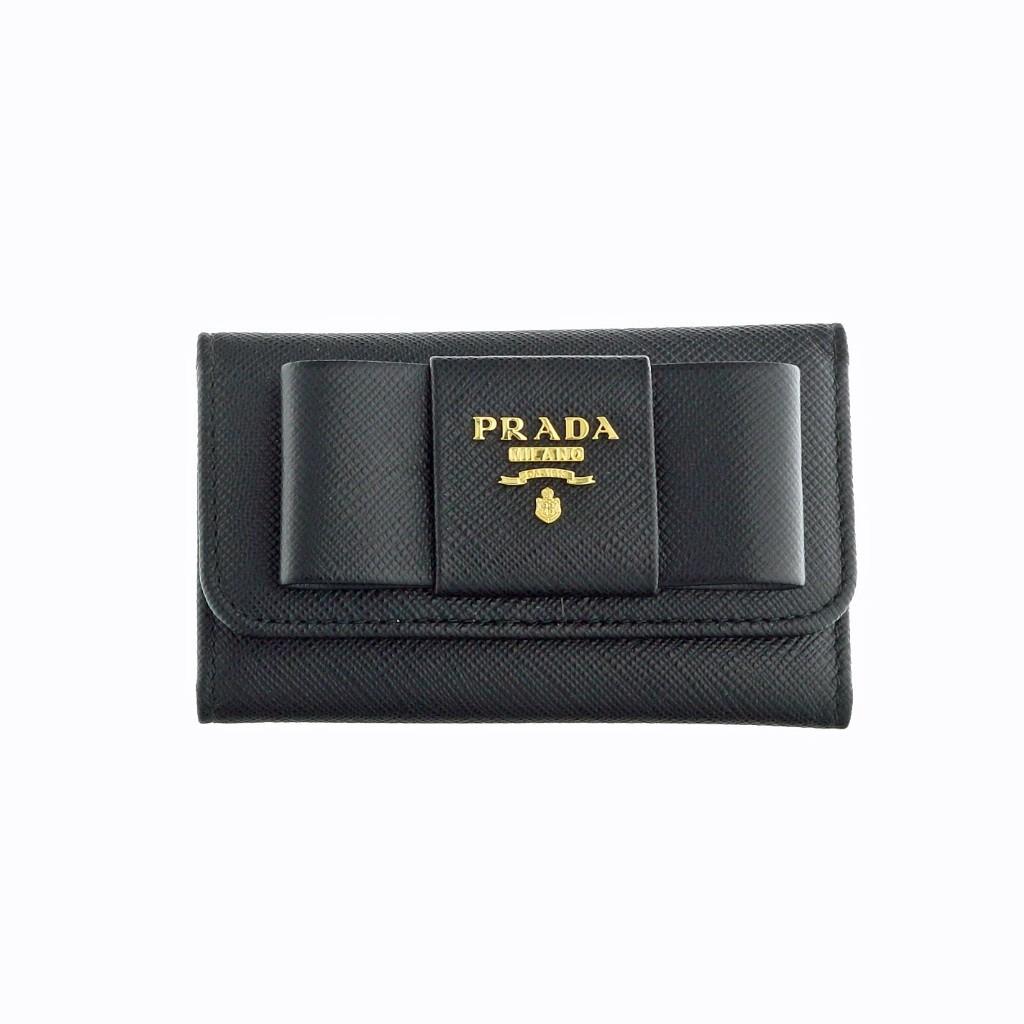 ddb03fc2cea0 プラダ キーケース 1PG222 F0002 NERO キーケース PRADA の商品詳細 ...