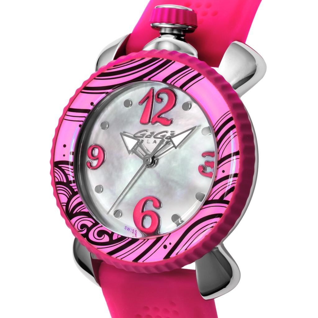 100% authentic 7efb5 d4294 ガガミラノ 腕時計 レディース LADY SPORTS 40MM ホワイトパール ...