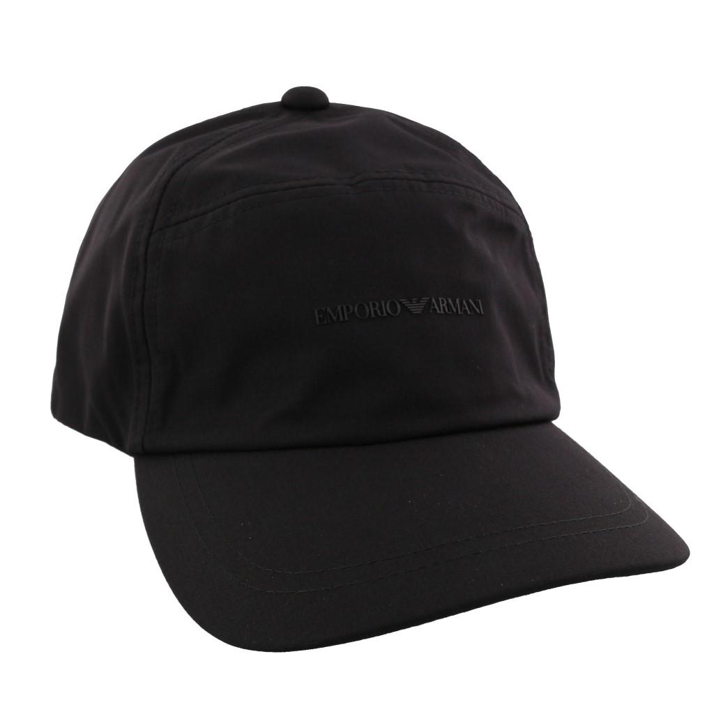 new product da768 0f779 エンポリオアルマーニ キャップ 帽子 メンズ ブラック 627509 ...