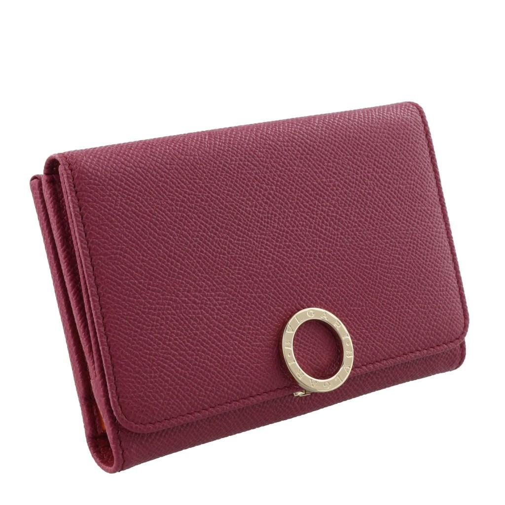 on sale 83108 c6353 ブルガリ 二つ折り財布 レディース BVLGARI BVLGARI ピンク ...