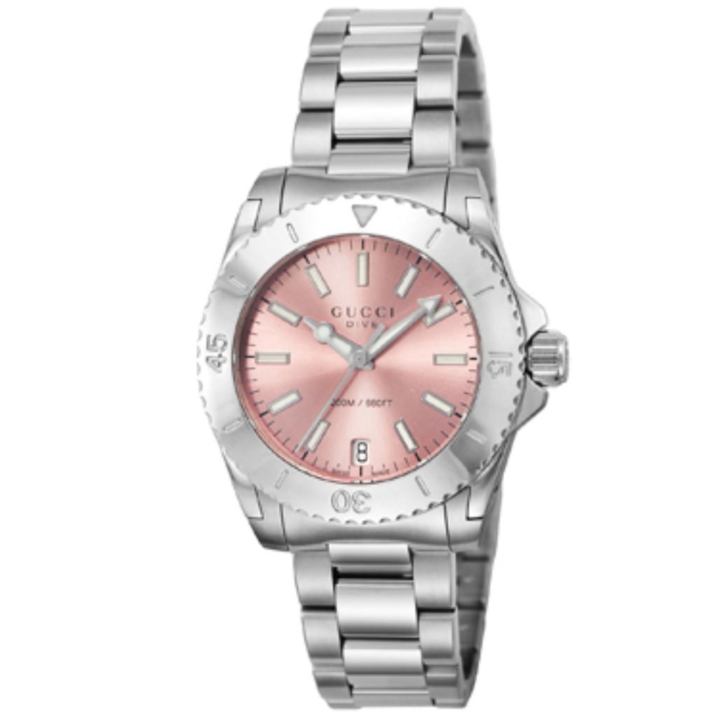 f786f45d4189 グッチ 腕時計 レディース ダイヴ ピンク YA136401 腕時計 GUCCI の商品 ...