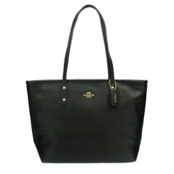 COACH OUTLET コーチ アウトレット バッグ F58846 IMBLK シティー ジップ トップ トート