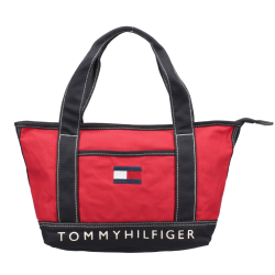 TOMMY HILFIGER トミーヒルフィガー トートバッグ レディース レッド TH814 RED